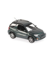 TOYOTA RAV 4 - 2000 - DARK GREEN METALLIC - MAXICHAMPS