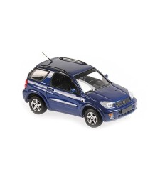 TOYOTA RAV 4 - 2000 - DARK BLUE METALLIC - MAXICHAMPS