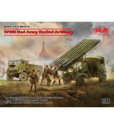 1:35 WWII Red Army Rocket Artillery (BM-13-16 on W.O.T. 8 chassis, Model W.O.T. 6, WWII Soviet BM-13-16 MLRS Vehicle Crew, RKKA Drivers (1943-1945))