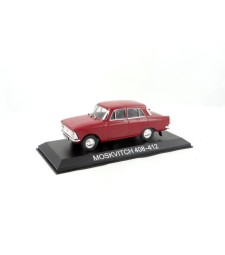 Moskwitch 408-412 Legendary Cars Red