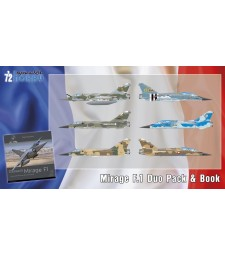 1:72 Mirage F.1 Duo Pack & Book