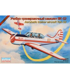 1:72 Yakovlev Yak-52 Russian aerobatics training aircraft
