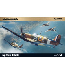 1:48 British fighter Spitfire Mk.IIa