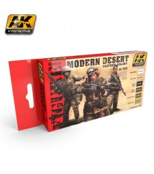AK3220 MODERN DESERT UNIFORM COLORS - Figures Series Set (6 x 17 ml)