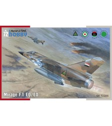 1:72 Mirage F.1 EQ/ED