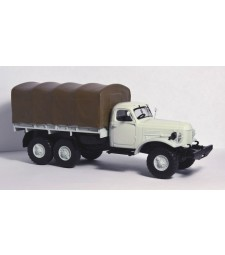 ZIL-157K flatbed truck with tent