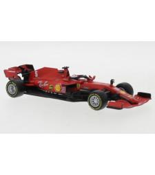 Ferrari SF1000, No.5, scuderia Ferrari, formula 1, GP Osterreich, with figure of driver, S.Vettel, 2020