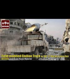 1:35 Field-modified Civilian Truck w/UB-32 Rocket Launcher