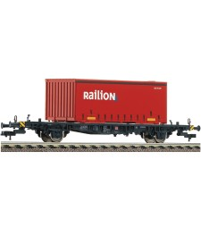 Container carrier wagon type Lgjs 598, DB AG, epoch V