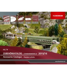 Fleischmann Model Railway H0/N Catalogue 2015/2016