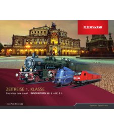 Fleischmann Model Railway Catalogues 2015