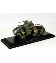 Ford M8 Armored Car 2nd Armored Division Avranches (WWII Collection by EAGLEMOSS)