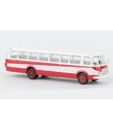 JZS Jelcz 043 Bus, white/red, 1960