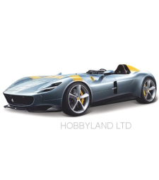 Ferrari Monza SP1, metallic-grau/Decorated