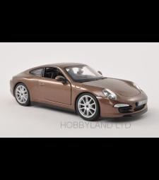 Porsche 911 (991) Carrera S, metallic-brown