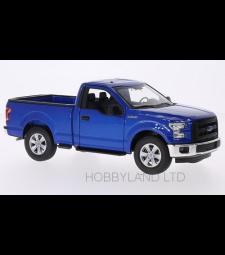 Ford F-150, metallic-blue, 2015