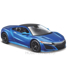 Acura NSX, matt blue