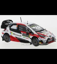 Toyota Yaris WRC, No.8, Toyota Gazoo Racing, Microsoft, WRC, Rallye Sweden O.Tanak/M.Jarveoja