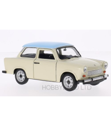 Trabant 601, beige/light blue