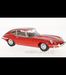 Jaguar E-Type, red, 1962