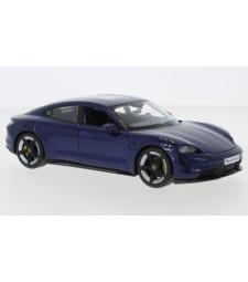 Porsche Taycan Turbo S, metallic-dark blue