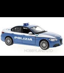 Alfa Romeo Giulia Polizia - Blue & White