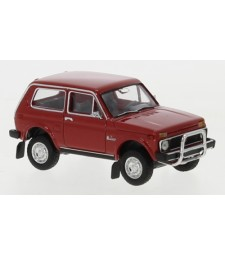 Lada Niva, Red, with Rammbugel, 1976