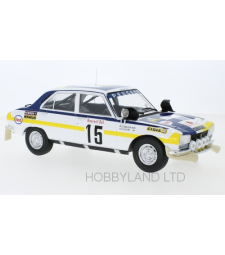 Peugeot 504 ti, No.15, Rally Marokko B.Consten/G.Flocon 1975