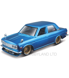 Datsun 510, metallic-blue