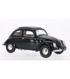 VW Kafer Brezelfenster, black, 1950