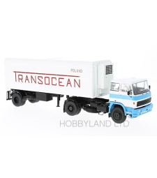 LIAZ 110 White &Bblue Transocean Cooling Trailer, 1974