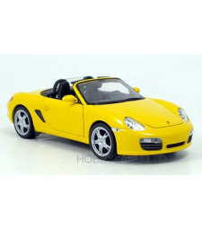 Porsche Boxter S, Convertible, yellow