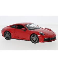 Porsche 911 Carrera 4S, red