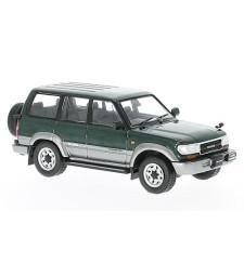Toyota Land Cruiser LC80, metallic dark green / silver, RHD, 1992