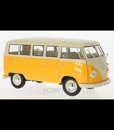 VW T1 bus, dunkelgelb/beige, 1963