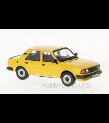 Skoda 120L, dark yellow, 1984