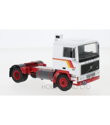 Volvo F10, white/red, 1983