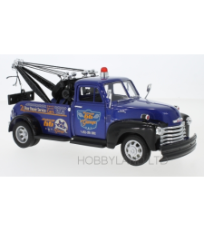 Chevrolet 3800, metallic-blau/black, Highway 66 garage, towing automobile, 1953