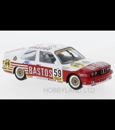 BMW M3 (E30), No.59, Bastos, WTCC, 24h Spa, D.Vermeersch/G.Fontanesi/M.Micangeli, 1987