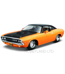 Dodge Challenger R/T, orange/black