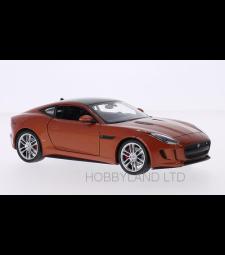 Jaguar F-Type Coupe, copper/black