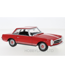 Mercedes 230 SL (W113), red, 1963