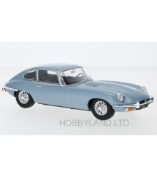 Jaguar E-Type, metallic-blue