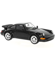 Porsche 911 (964) Turbo 3.0, black, 1974