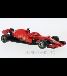 Ferrari SF71-H, No.7, formula 1, K.Raikkonen, 2018