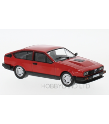 Alfa Romeo GTV 6, red, 1985