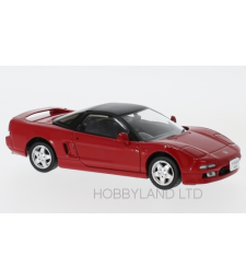 Honda NSX, red, RHD, 1990