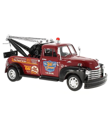 Chevrolet 3800, Dark Red & Black Tow Truck