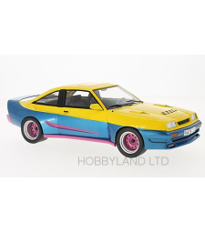 Opel Manta B Mattig, Yellow and Blue, 1991