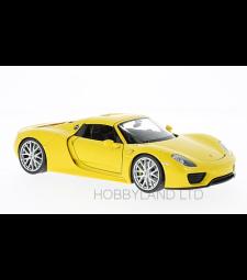 Porsche 918 Spyder, yellow